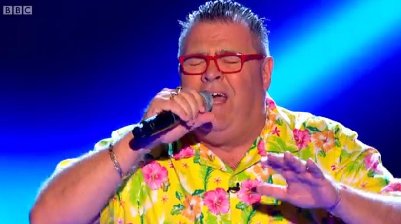 The Voice, series 4 blind audition 3