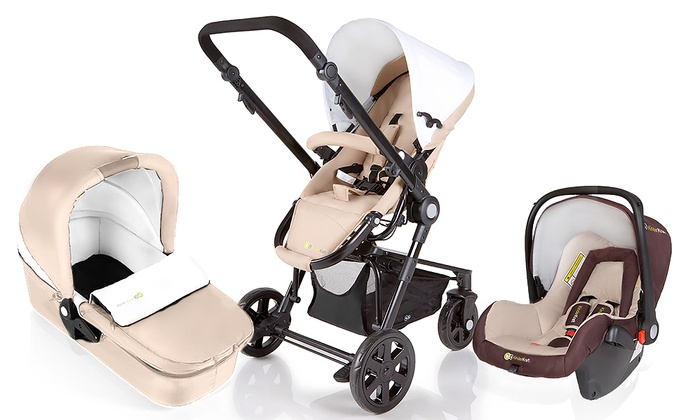 KinderKraft 3in1 Stroller Groupon