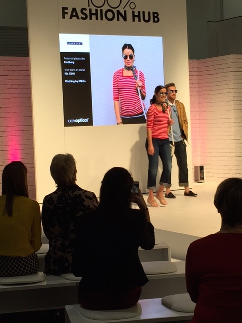 100% Optical Fashion Show