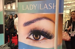 Lady Lash at Pro Beauty Show 2015