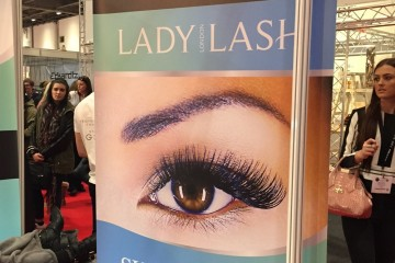 Lady Lash at Pro Beauty Show 2015