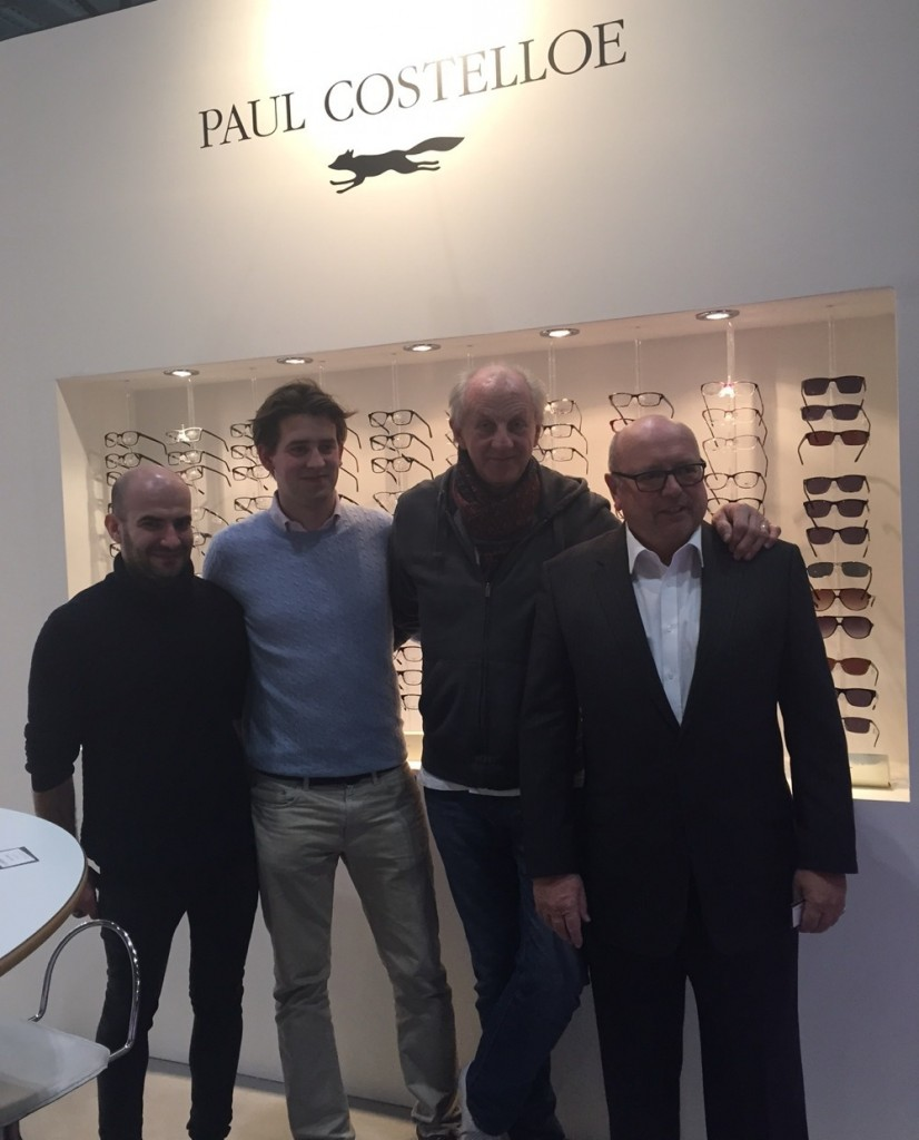 Paul Costelloe and His Team