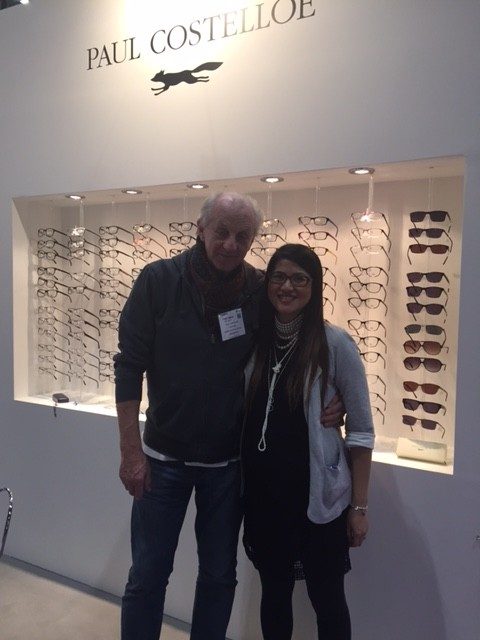 Paul Costelloe at 100% Optical 2015