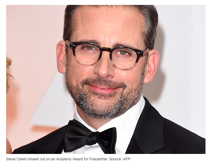 Steve Carell at the Oscars 2015