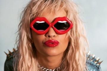 Rita Ora wearing Linda Farrow