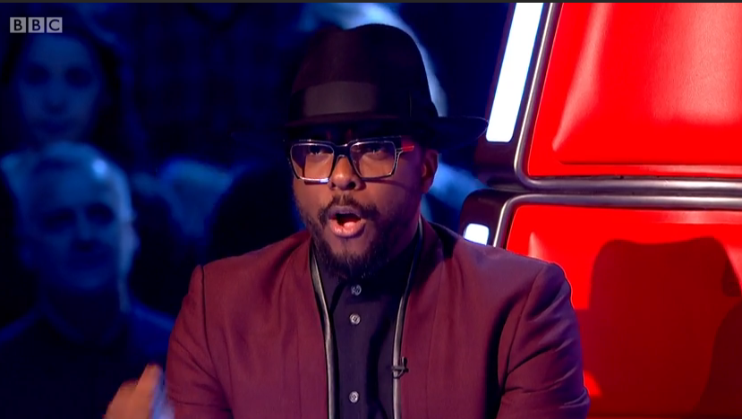 Wil.i.am Glasses The Voice Battle Round 1