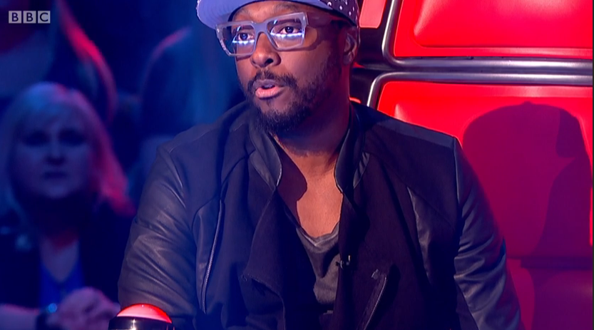 The Voice Series 4, Battle Number 2 - Will.i.am's glasses