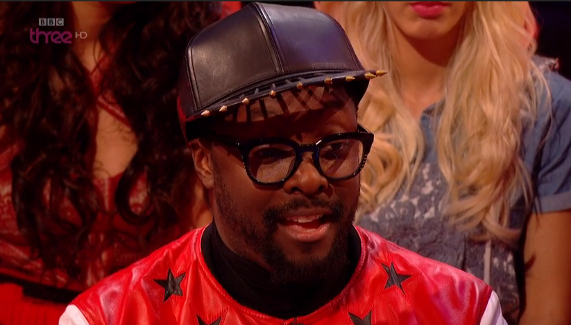 Will.i.am Glasses on The Voice Quarter Final