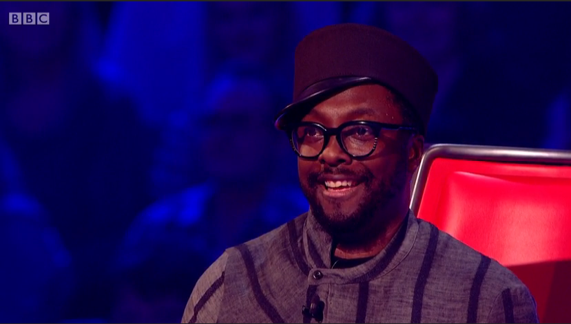The Voice Live Semi Final 2015 - Will i ams glasses