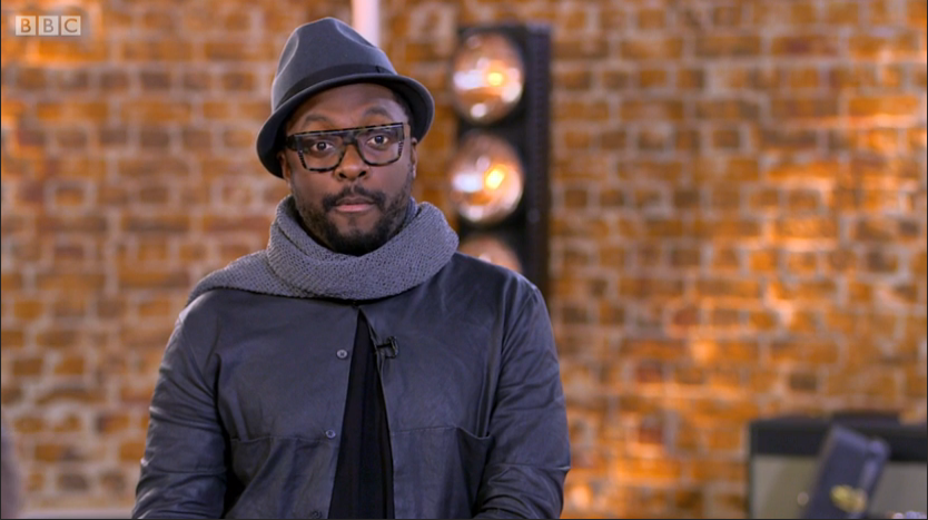The Voice Live Semi Final - Will i ams glasses