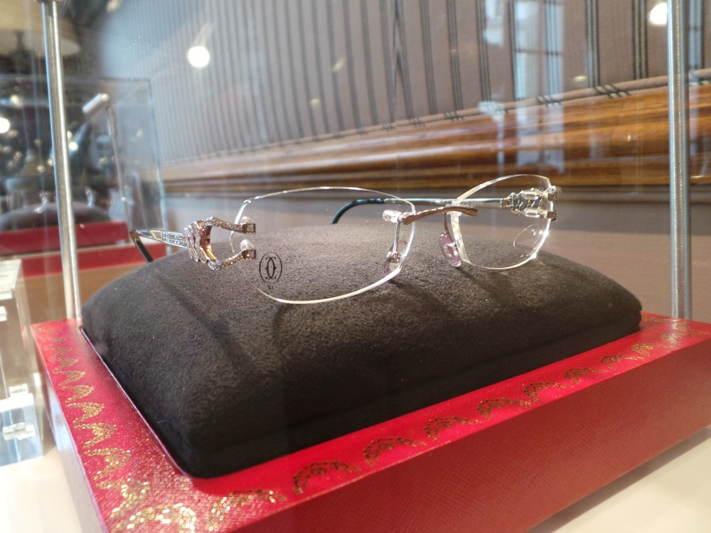 Cartier Travelling Collection - Diamond Glasses