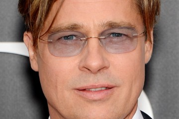 Brad Pitt wore Silhouette TMA MUST frames to The Big Short premier