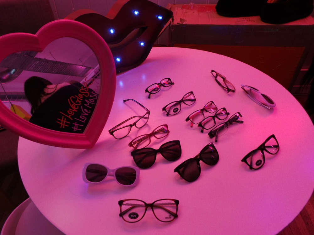 Moschino Eyewer Range at Specsavers