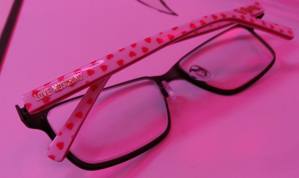 Moschino Eyewear Hearts design