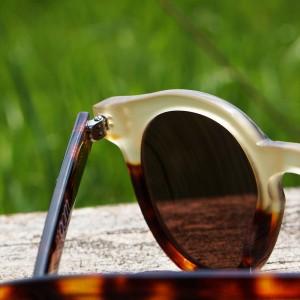MGAM Sunglasses - Experimenter Collection - Ibiza - Sunset - Detail