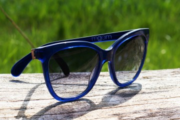 MGAM Sunglasses - Experimenter Collection - Paris - Bleu - Main