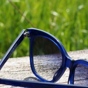 MGAM Sunglasses - Experimenter Collection - Paris - Bleu - Detail