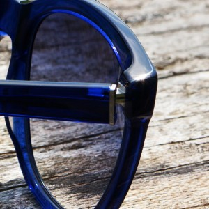 MGAM Sunglasses - Experimenter Collection - Paris - Bleu - Cap Detail