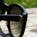 MGAM Sunglasses - Experimenter Collection - Paris - Noir - Cap Detail