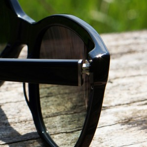 MGAM Sunglasses - Experimenter Collection - Paris - Noir - Cap Detail