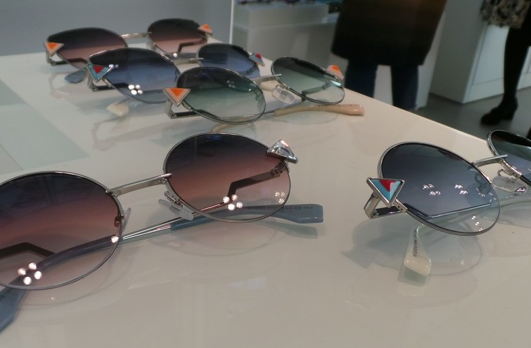 Fendi Eyewear at Safilo Press day SS2017