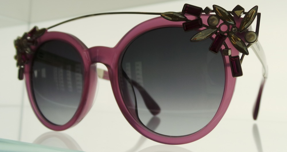 Jimmy Choo Eyewear with Cliip on Jewellery