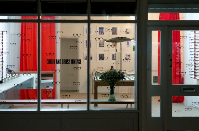 Cutler & Gross Vintage store
