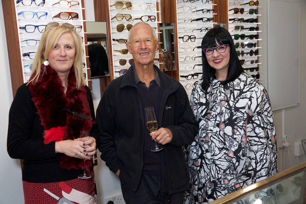 From left to right Fiona Mohammadi managing director, Graham Cutler co-founder & Marie Wilkinson design director