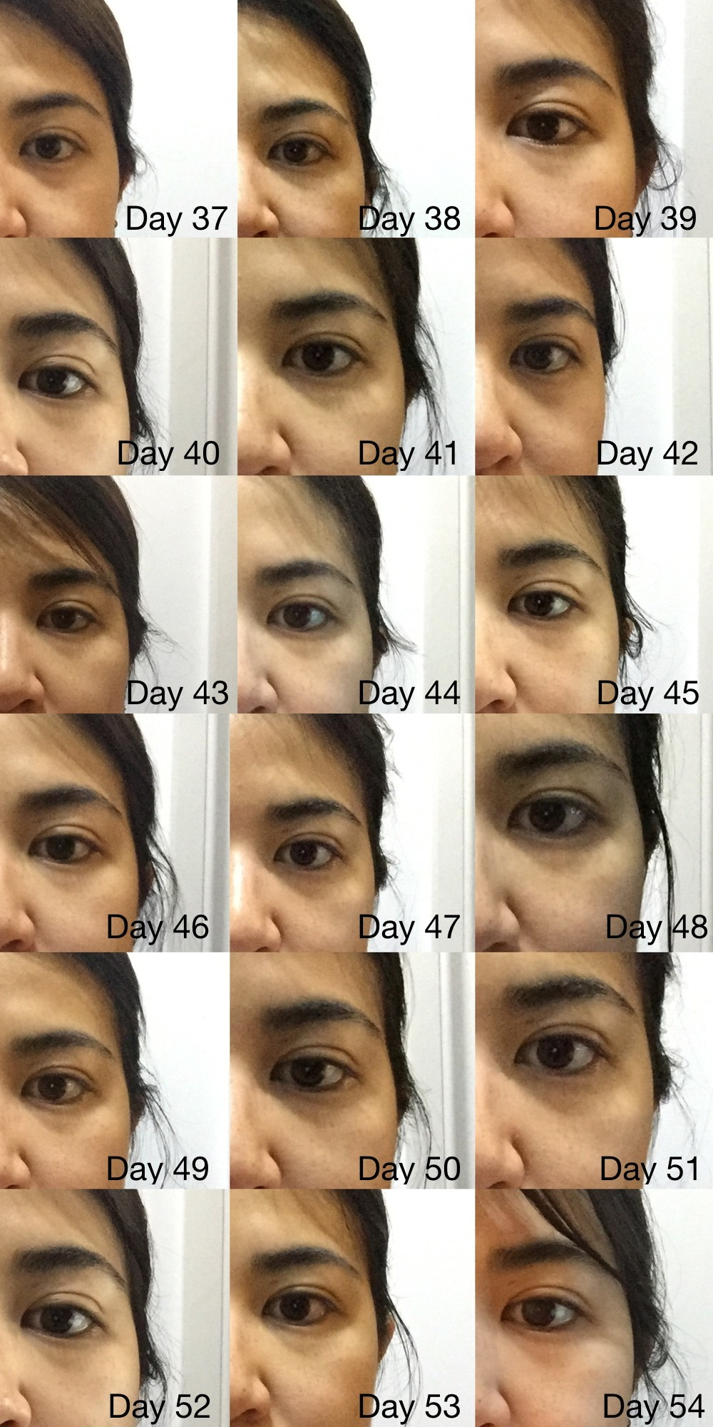 Eyecream Test 37 - 54