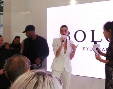 Hailey Baldwin at Bolon Eyewear Launch during Mido 2017