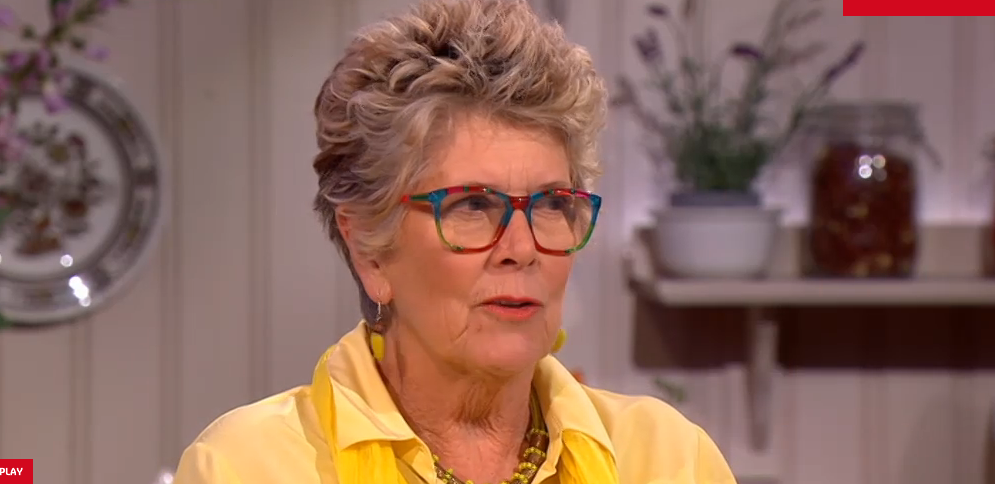 Prue Leith Glasses on Extra Slice