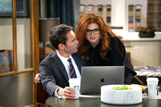 Sama Eyewear as seen on Will and Grace