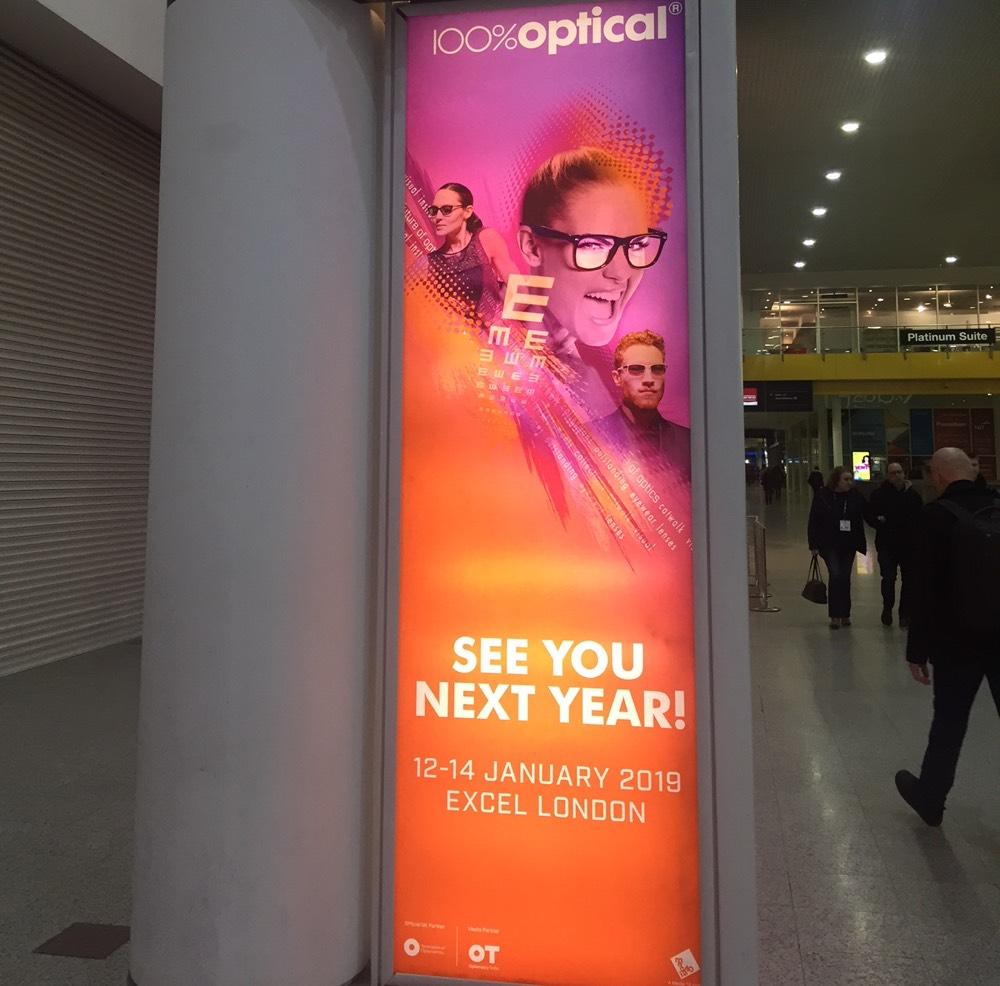 100% Optical 2019