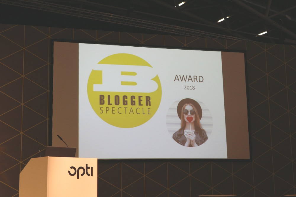 Opti2018 The Blogger Spectacle Award