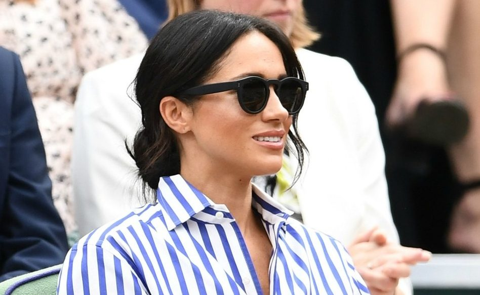 Meghan Markle Sunglasses and Wimbledon - Screen Shot from Vanityfair.com