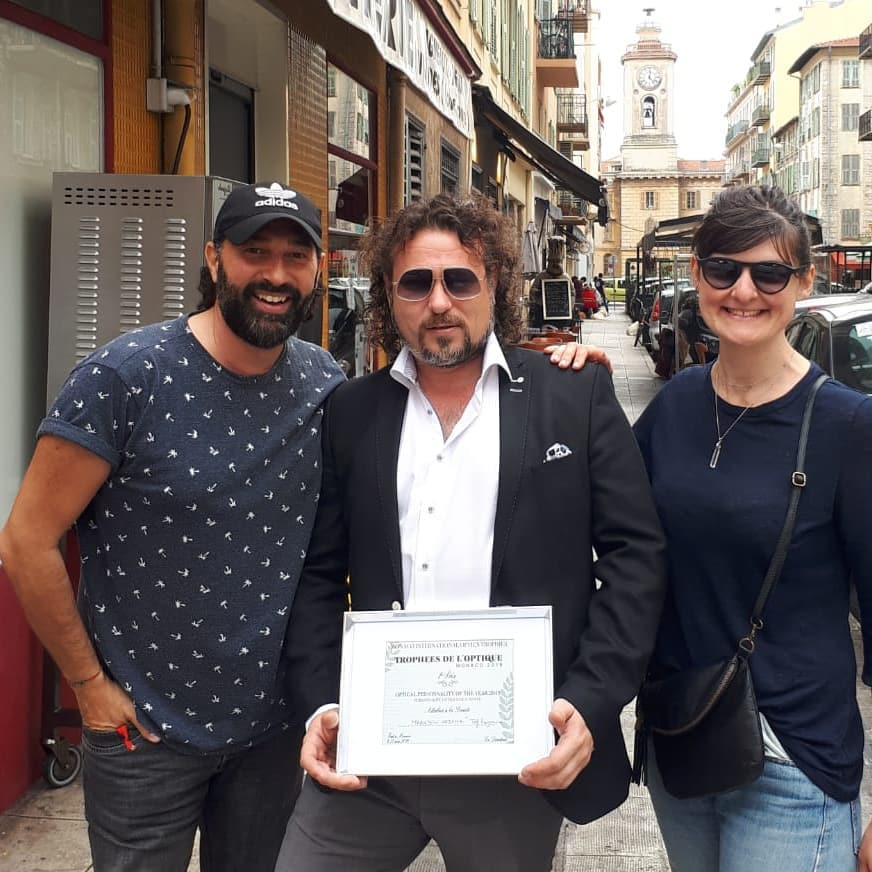 Maarten from TEF Wins International Optical Personality of the Year Award