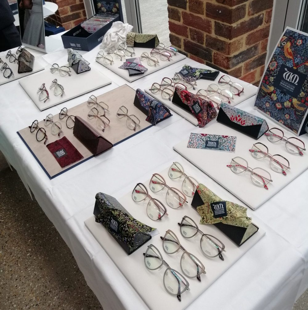 William Morris London x William Morris Gallery Glasses Collaboration Launch