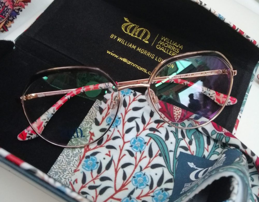 William Morris London x William Morris Gallery Collaboration Glasses Launch