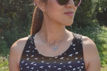Siu wearing Zeal Optics cotton acetate sunglasses