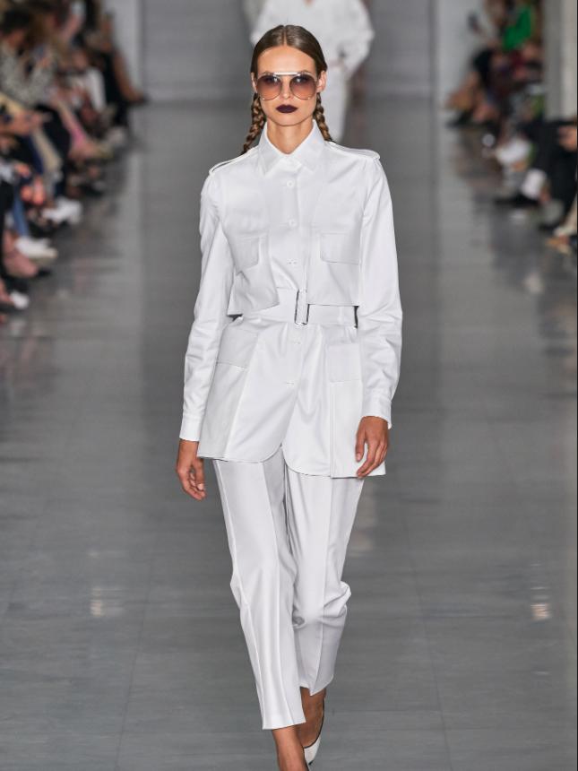 Max Mara During Milan Fashion Week S/S2020 - Image Credit: Vogue.com
