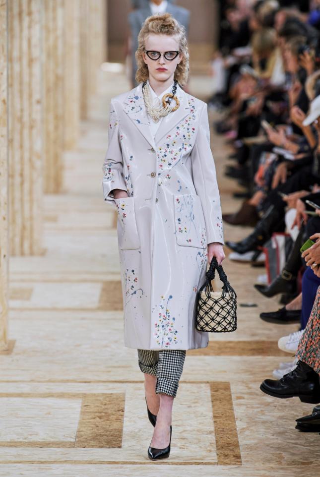 Miu Miu During Paris Fashion Week S/S2020 - Image Credit: Vogue.com