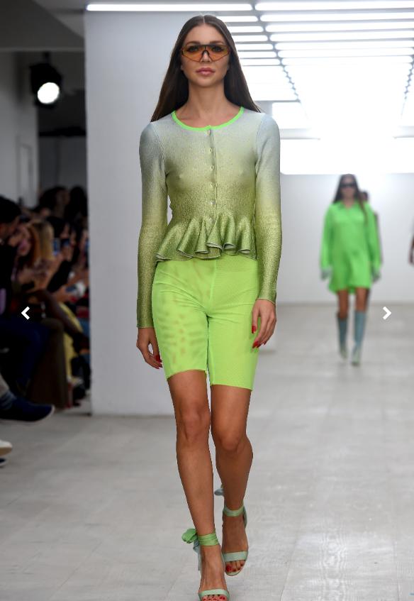 Roberta Einer During London Fashion Week S/S2020 - Image Credit: Vogue.com