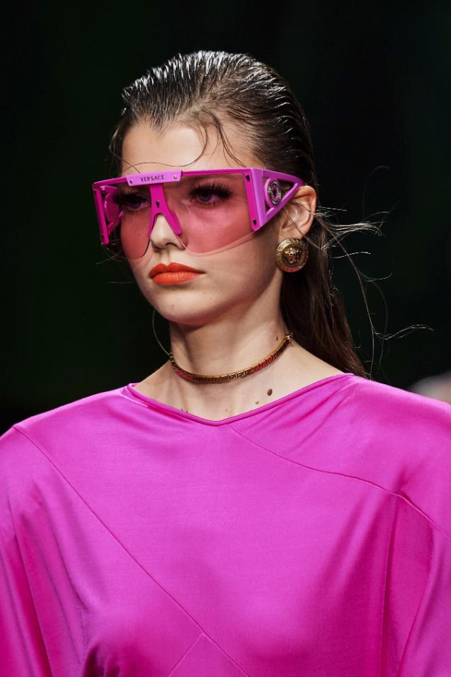 Versace During Milan Fashion Week S/S2020 - Image Credit: Vogue.com