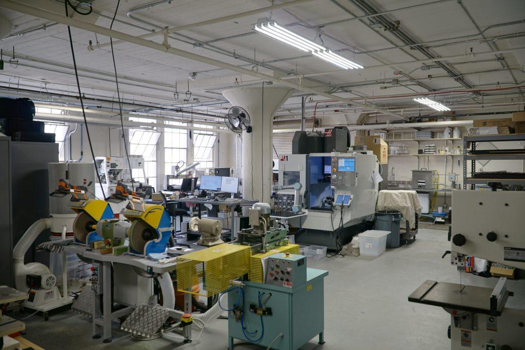 Inside Lowercase NYC workshop