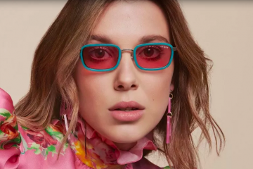 Vogue Eyewear x Millie Bobby Brown