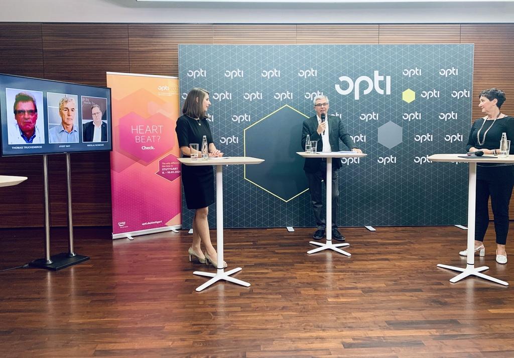 Opti 2021 Press Conference