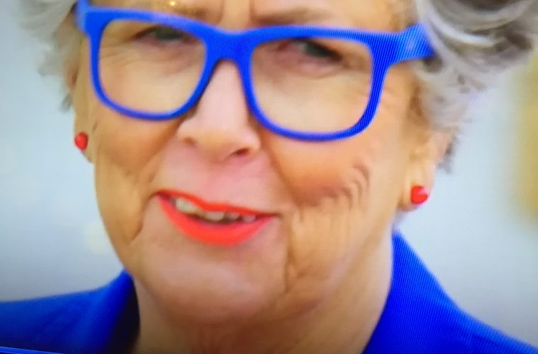 Prue Leith GBBO 2020 Blue Glasses