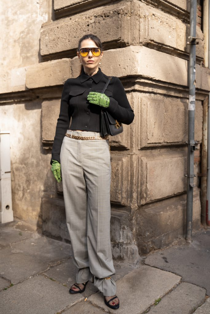 Milan Fashion Week A/W2020 Street Style
